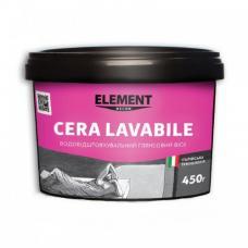 Декоративный глянец воск ELEMENT Cera lavabile 450 г