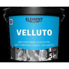 Декоративная штукатурка Element Decor Velluto бархат 3 кг