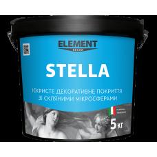 Декоративная штукатурка Element Decor Stella полупрозрачный 5 кг