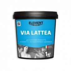 Декоративное штукатурка ELEMENT Decor Via Lattea Agento, 1 кг