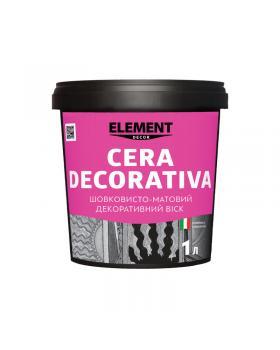 Декоративный матовый воск ELEMENT Cera decorativa 3 л