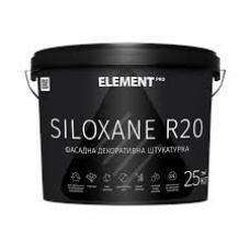 Штукатурка силоксановая Element PRO Siloxane R20 короед (25 кг) 2 мм