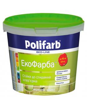 Акриловая краска Polifarb Экокраска, 7кг