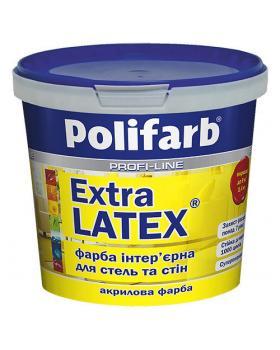 Акриловая краска ЭкстраЛатекс Polifarb, 7 кг