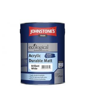 Акриловая износостойкая краска JOHNSTONE'S Acrylic Durable Matt (10 л)