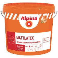 "Водно-дисперсионная краска ""Alpina"" Mattlatex (10 л)"