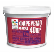 Акриловая краска Element Econom фасадная, 3,5 кг
