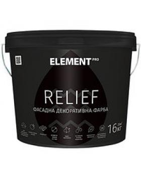 Краска структурная матовая Element PRO Relief 3,5кг