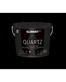 Грунт-краска  Element PRO Quartz структурная белая 25 кг