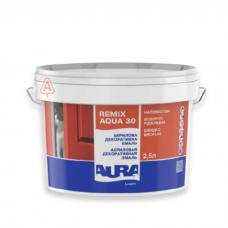 Эмаль акриловая Aura Luxpro Remix Aqua полуматовая (2.5 л)