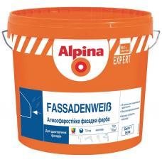 "Водно дисперсионная краска ""Alpina Expert"" Fassadenweiss B3 (9,4 л)"