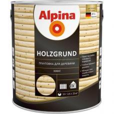 Средство деревозащитное Alpina Hokzgrund ГРУНТ (2,5л)