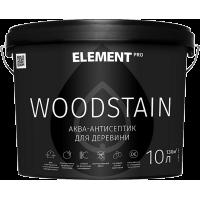 Аква-антисептик Element PRO WOODSTAIN, дуб (10 л)