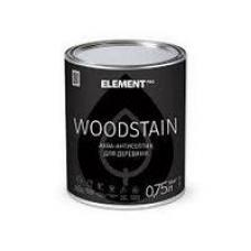 Аква-антисептик Element PRO WOODSTAIN, кипарис (0,75л)