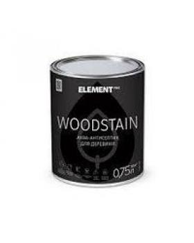 Аква-антисептик Element PRO WOODSTAIN, тик (0,75л)