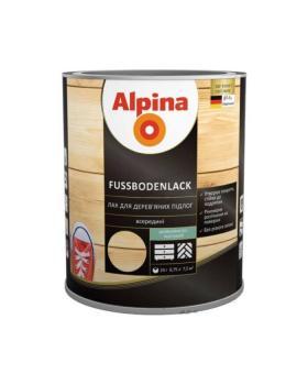 Лак алкидно-уретановый Alpina Parkett шелковисто-матовый 0,75л
