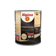 Лак алкидно-уретановый Alpina Parkett глянцевый 0,75л