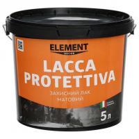 "Защитный матовый лак LACCA PROTETTIVA ""ELEMENT DECOR"" 5л"