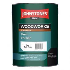 Лак JOHNSTONE'S Floor Varnish Clear Satin полиуретановый для пола (полуматовый), 2,5 л