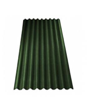 Лист Ондулин кровельный 0,95 х 2 м (зелёный)