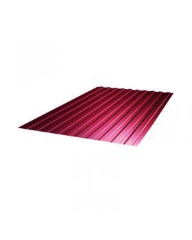 Профнастил ПС-10 (1500х1200х0,4) РЕ (красный)  1,8 м.кв