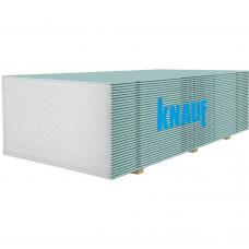 Гипсокартон влагостойкий KNAUF 1,2х2,0 м (9,5 мм)