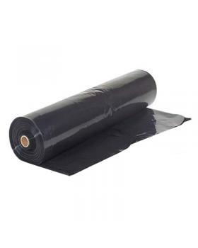 Плёнка полиэтиленовая (черная) 100 мкм (1,5 х 100м)