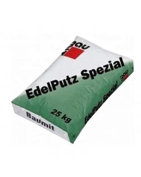 "Штукатурка минеральная Baumit 1,5К ""барашек"" Edelputz Spezial White"
