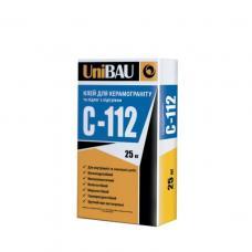 Клей для керамогранита и полов с подогревом UniBAU С-112