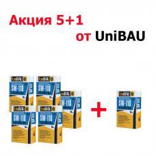 Клей для плитки эластичный термостойкий UNIBAU SW-118, 20кг + 1 в подарок