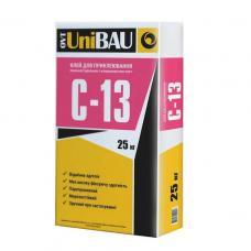 Клей для приклейки пенопласта и МВ UNIBAU С-13, 25 кг