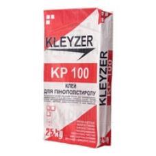Клей для приклейки пенопласта и МВ KLEYZER КР-100, 25 кг