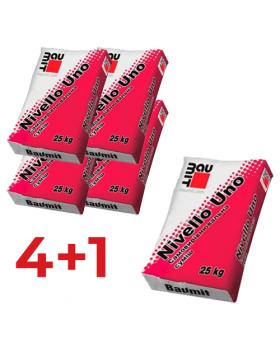 АКЦИЯ ! Самовыравнивающаяся смесь Baumit NivelloUno (2-20мм)  25кг (4+1)