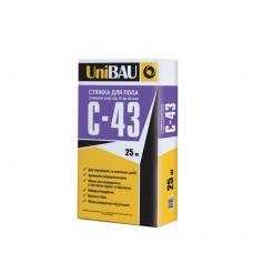 Смесь для стяжки UNIBAU С-43 (2-60 мм) 25кг
