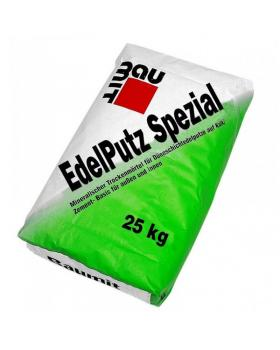 """Штукатурка минеральная Baumit  2К """"барашек""""  Edelputz Spezial White (зерно 2,0мм)"""