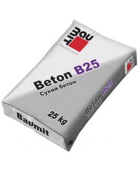 Модифицированная бетонная смесь Baumit Beton B25 25кг