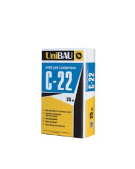 Клей для газобетона UNIBAU C-22, 25 кг