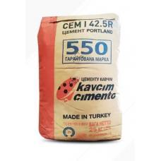 Цемент ПЦ-550 25 кг KAVCIM (Турция) (56шт/пал)