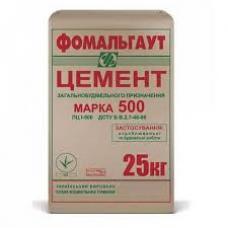 Цемент ПЦ-500 Д0 Полимин (25 кг)