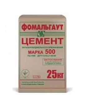 Цемент ПЦ-500 Полимин (25 кг)