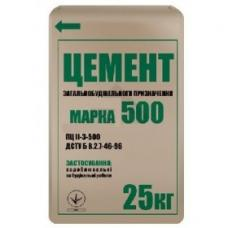 Цемент ПЦ-500 (25 кг)
